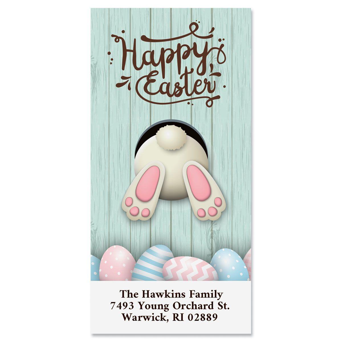 Happy Easter Oversized Return Address Labels