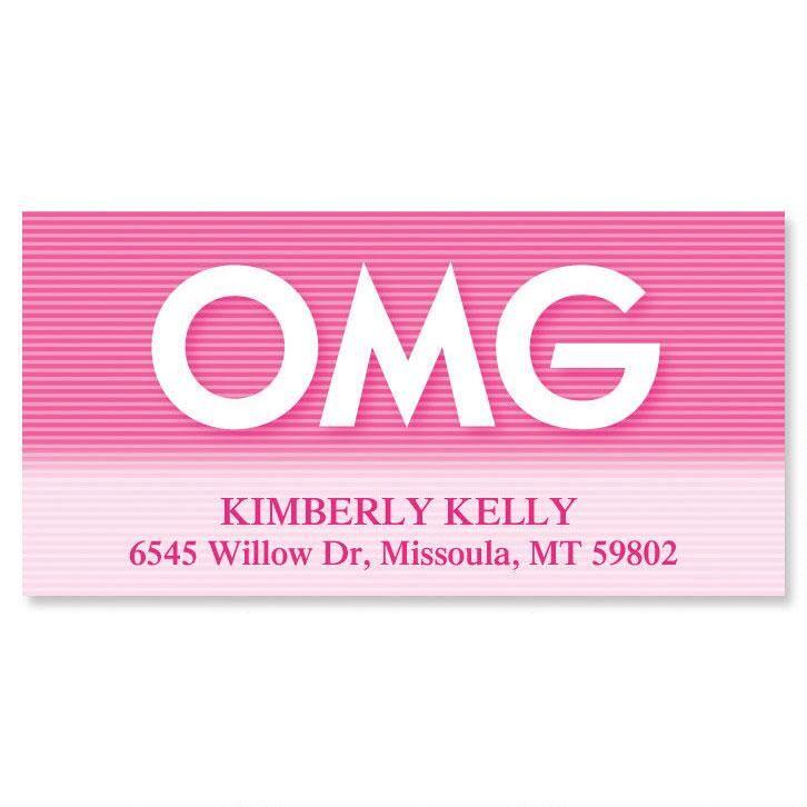 OMG  Deluxe Return Address Labels