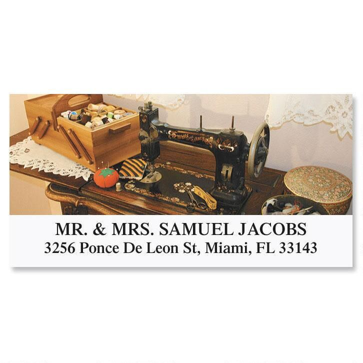 Sewing  Deluxe Return Address Labels