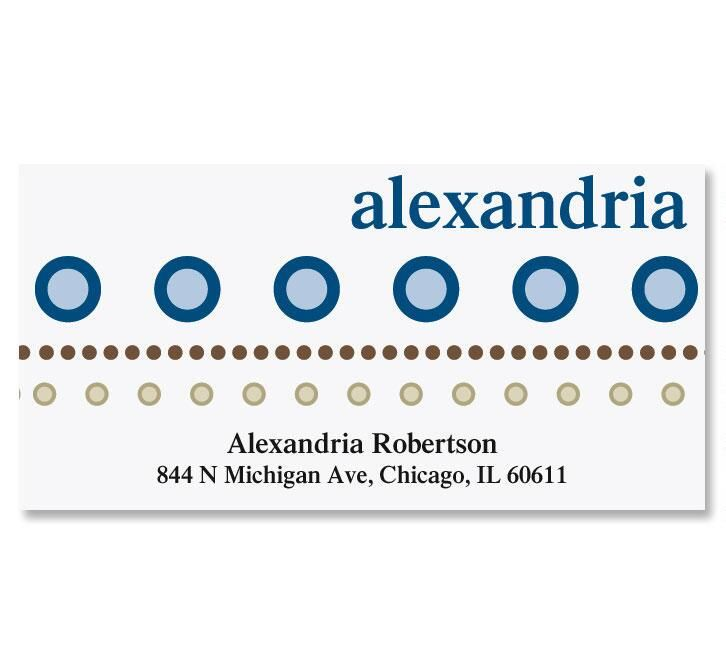 Annie Deluxe Return Address Labels