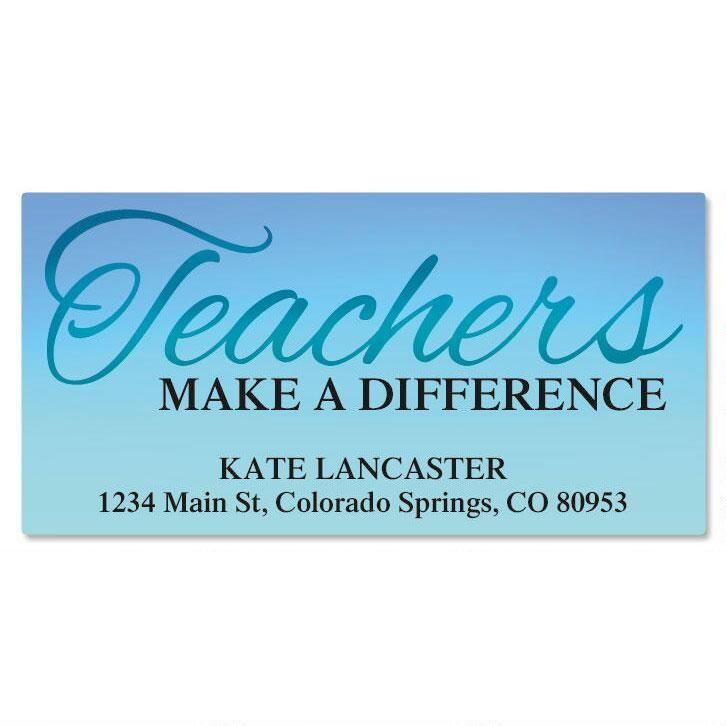Teachers Deluxe Address Labels