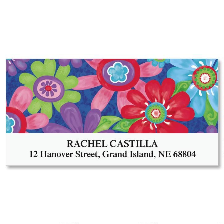 Blossom  Deluxe Address Labels