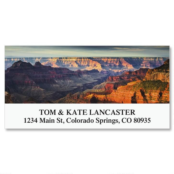 Grand Canyon National Park Deluxe Address Labels