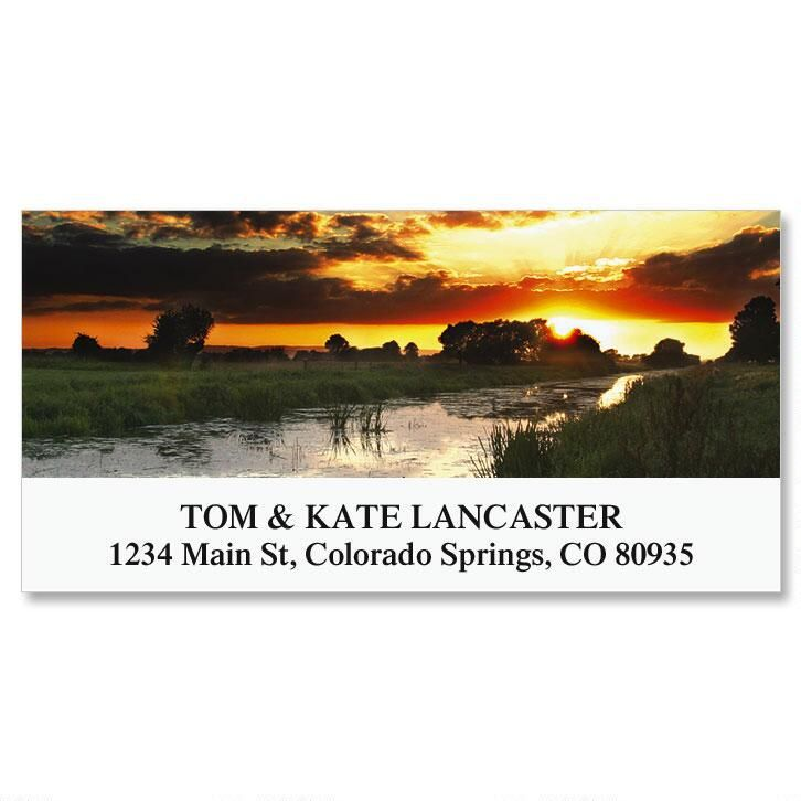 Somerset Levels Deluxe Address Labels