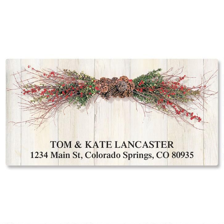 Twigs and Berries Deluxe Address Labels