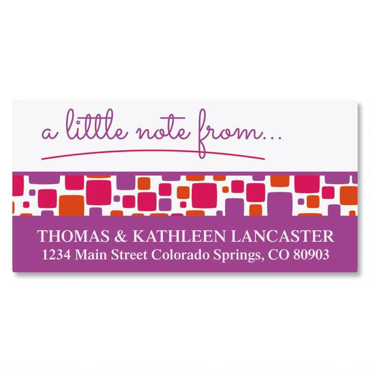 Noteworthy Deluxe Return Address Labels