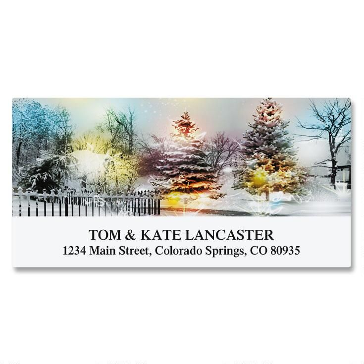 Winter Magic Deluxe Address Labels
