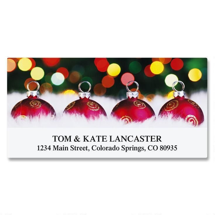 Sparkle Deluxe Address Labels