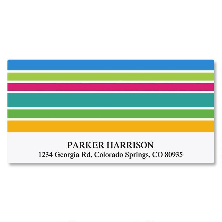 Ribbons Deluxe Return Address Labels