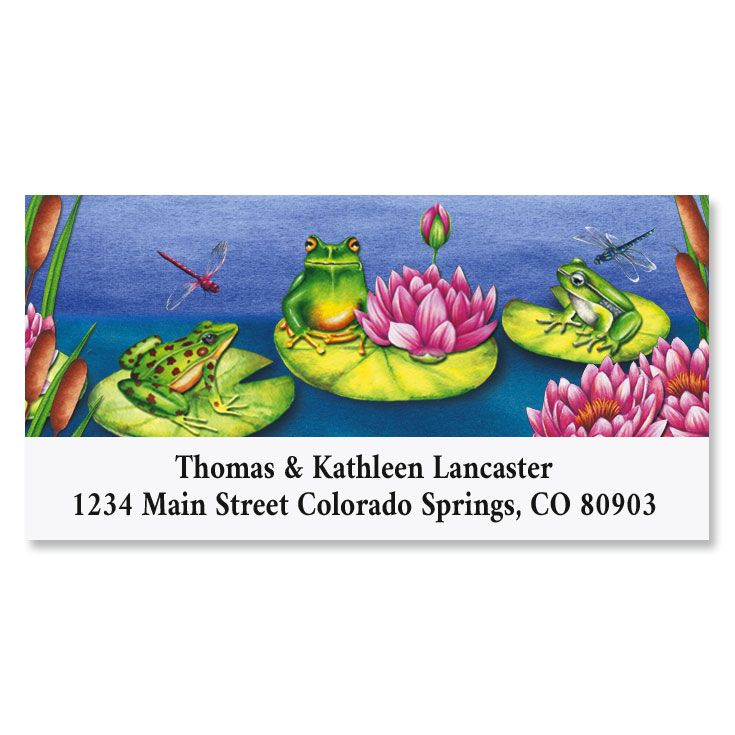 Frog Pond Deluxe Return Address Labels