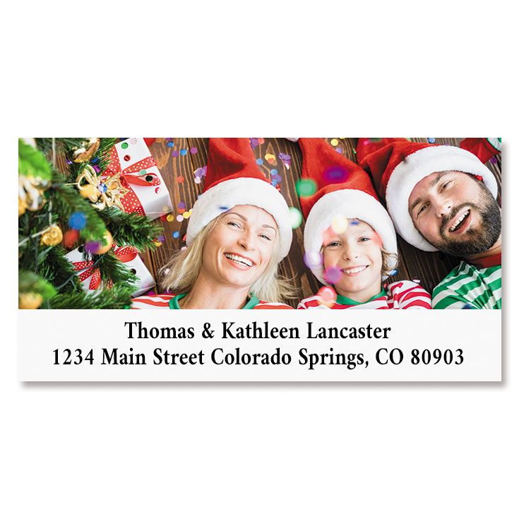 Direct Deluxe Photo Return Address Label