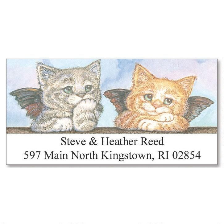 Kitten Angels Deluxe Address Labels