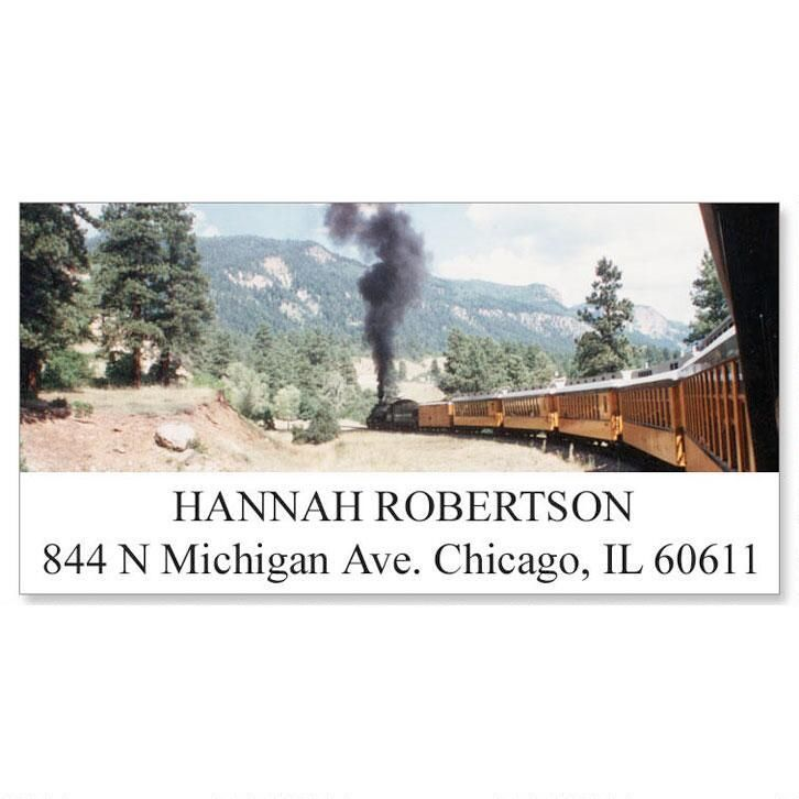 Durango-Silverton Train Address Labels