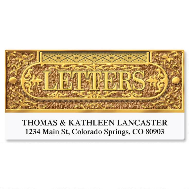 Letter Slot Deluxe Return Address Labels