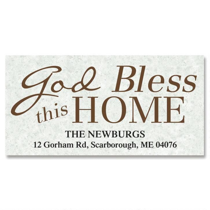 God Bless... Deluxe Return Address Labels