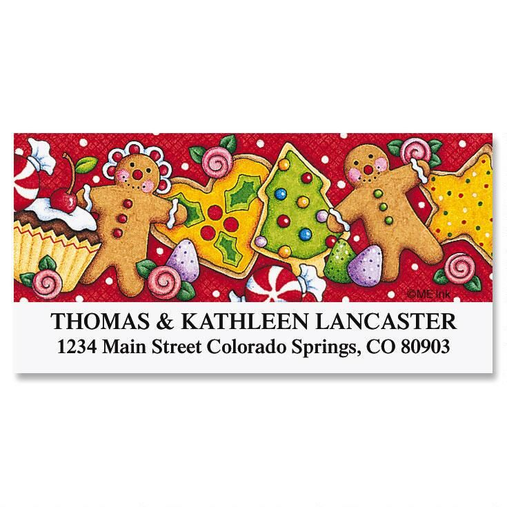Sweet Treats Deluxe Return Address Labels