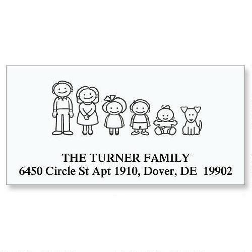 Our Family Deluxe Return Address Labels