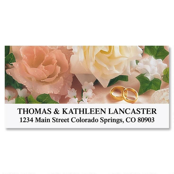 To Have and to Hold  Deluxe Return Address Labels