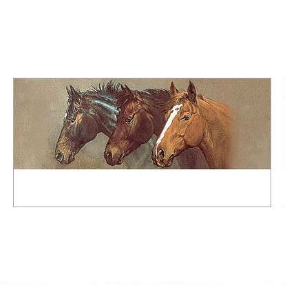 Thoroughbred Trio Deluxe Return Address Labels