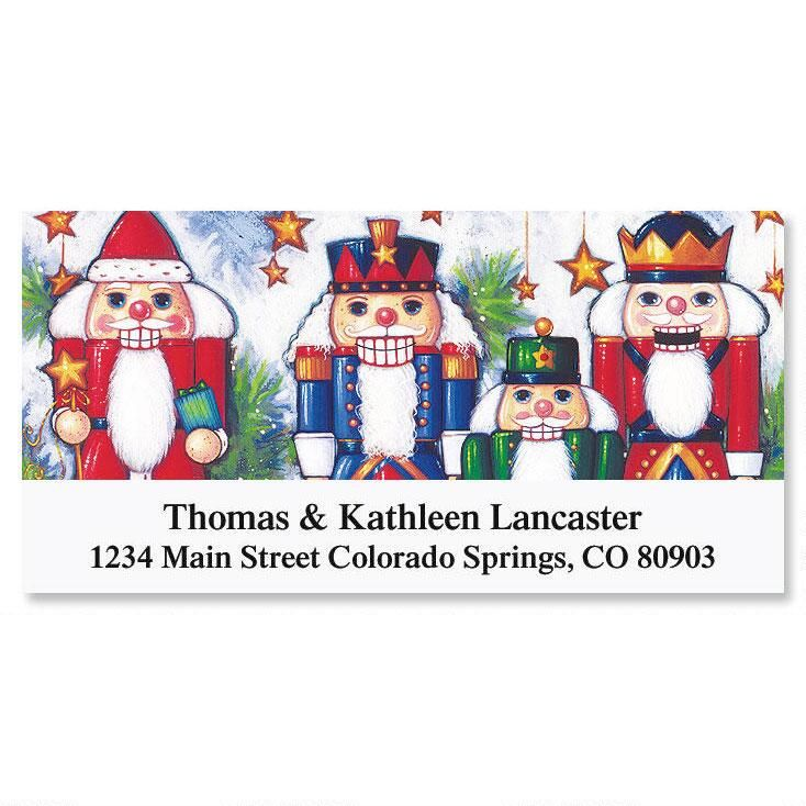 Nutcrackers Deluxe Address Labels