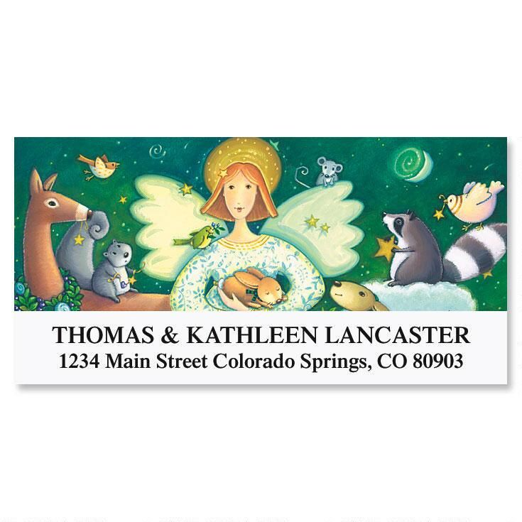 Heavenly Blessings Deluxe Return Address Labels