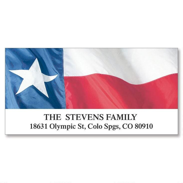Lone Star State Deluxe  Address Labels