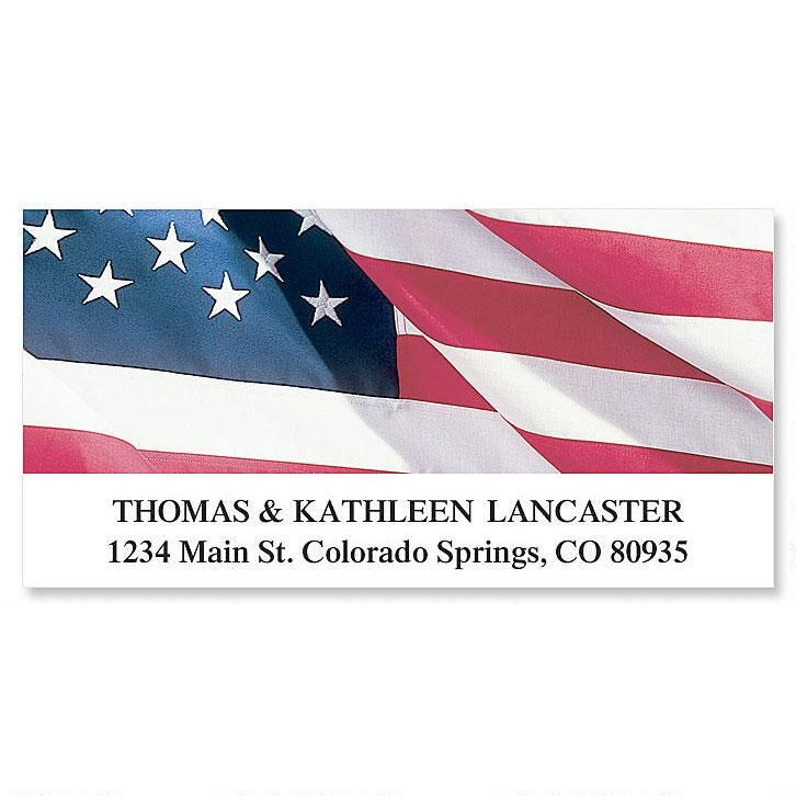 American Glory  Deluxe Return Address Labels