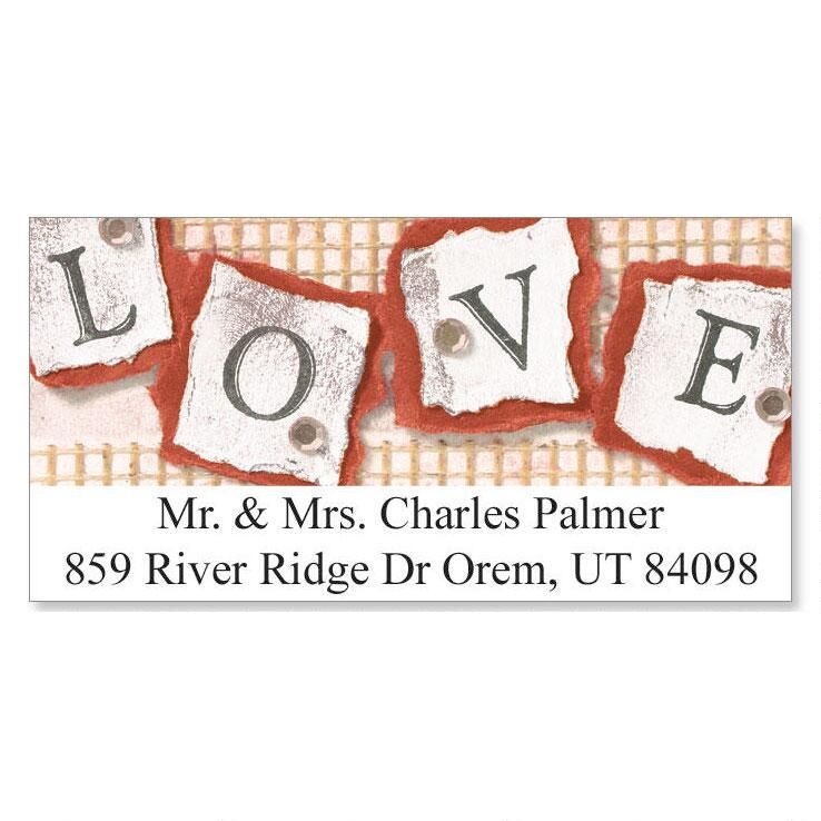 Stamped Love Deluxe Return Address Labels