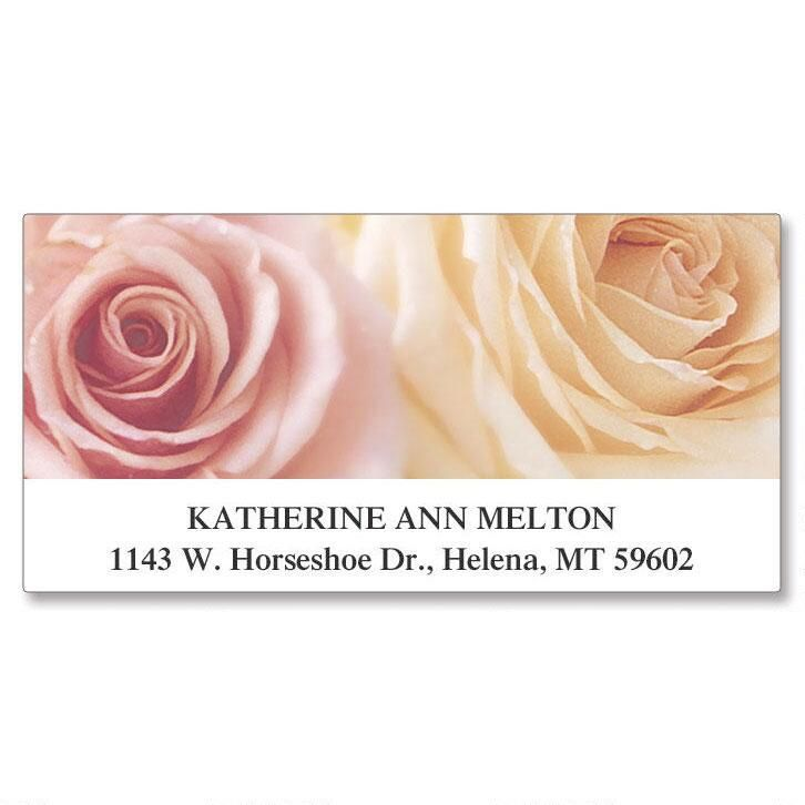 Roses  Deluxe Address Labels