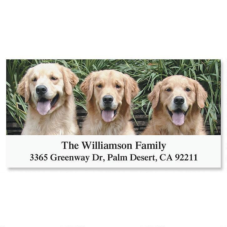 Retriever Deluxe Address Labels