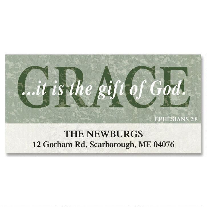 Grace Deluxe Return Address Labels