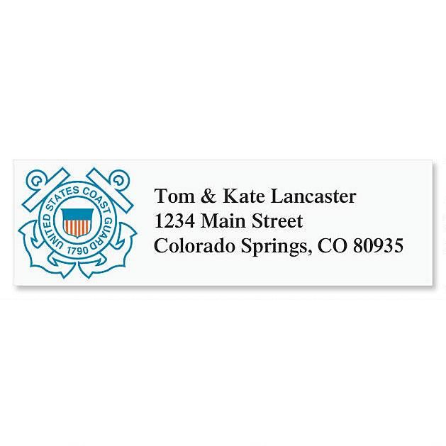 Coast Guard Classic Return Address Labels