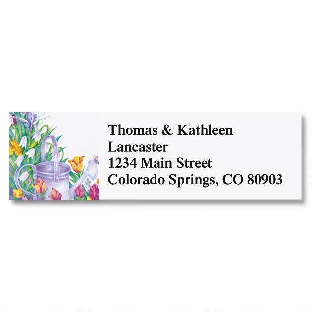 Garden Classic Return Address Labels