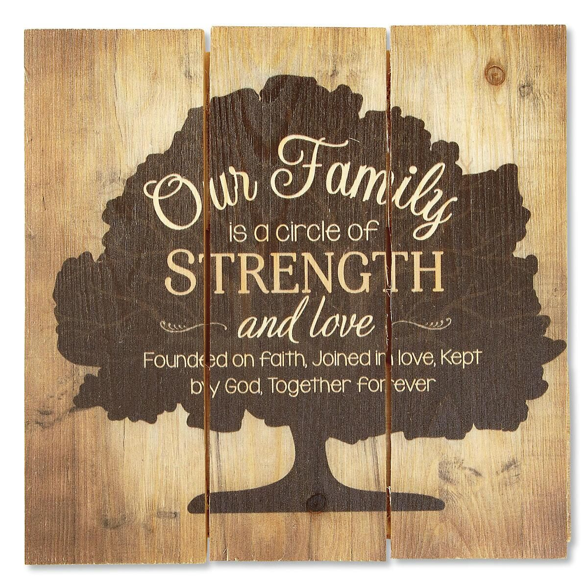 Our Family Pallet Art