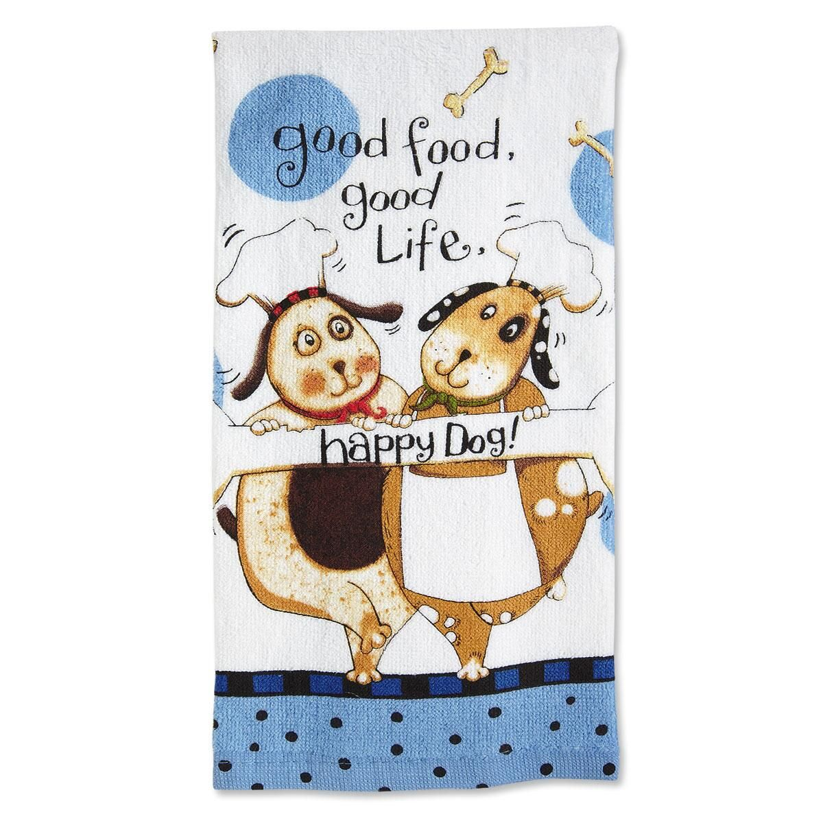 Happy Dog Kitchen Towel