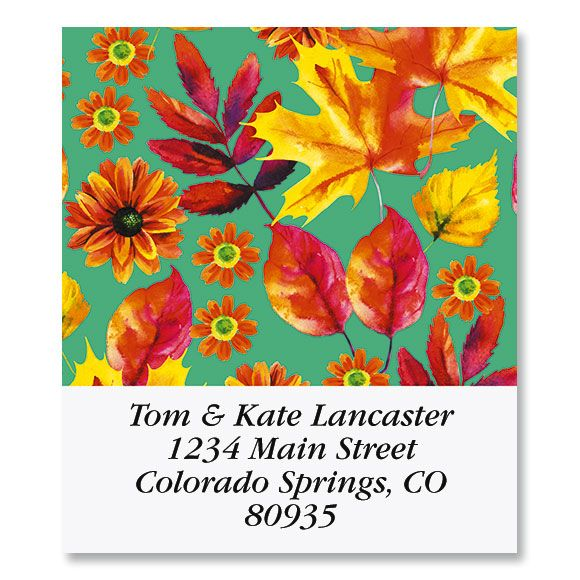 Autumn Bright Select Return Address Labels