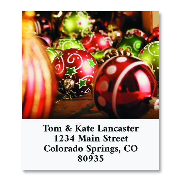 Christmas Joy Select Return Address Labels