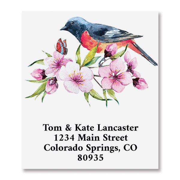 Spring Morning Select Return Address Labels