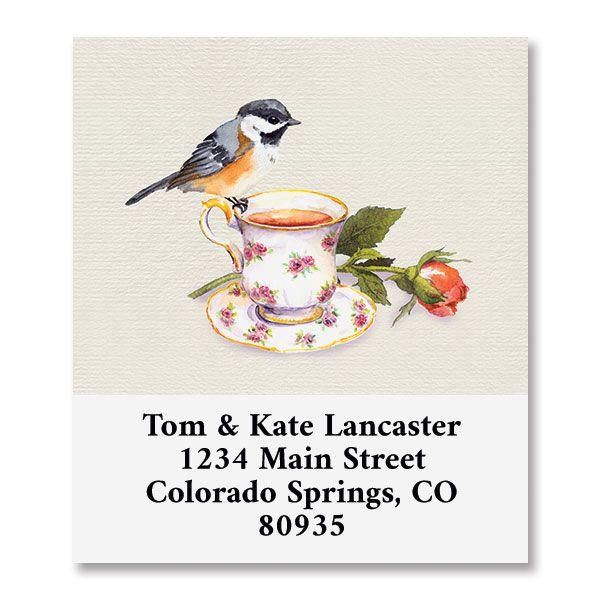 Sweet Tea Select Return Address Labels