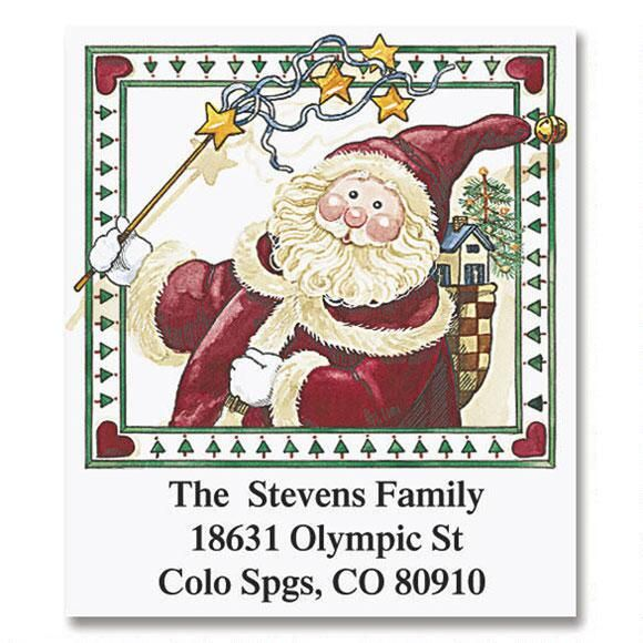 Sandi's Magical Christmas   Select Return Address Labels