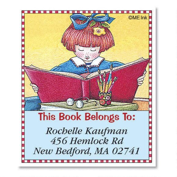 Read To Succeed by Mary Engelbreit® Bookplates