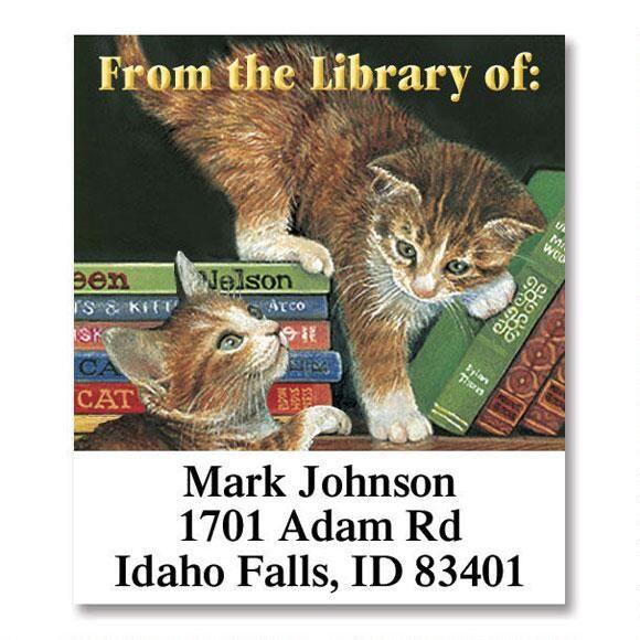 Novel Friends  Bookplates