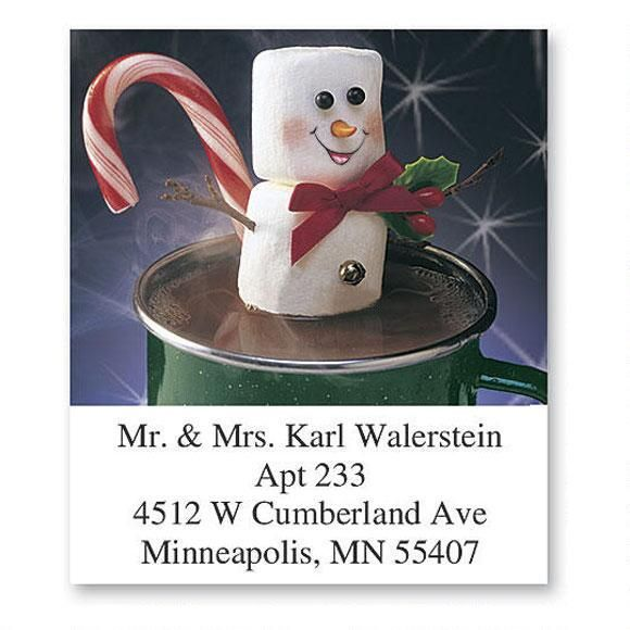 Marshmallow Fun Select Return Address Labels