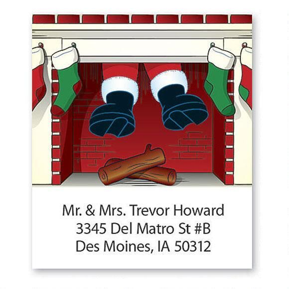 Down The Chimney Select Address Labels