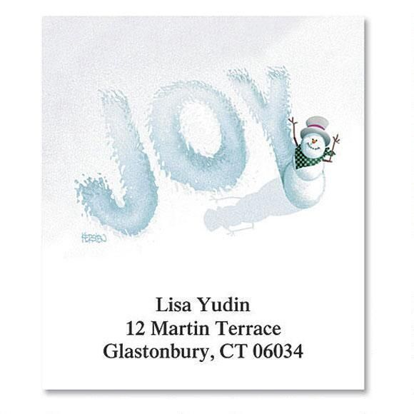 Joy Select Return Address Labels
