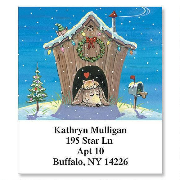 Home for the Holidays Select Return Address Labels