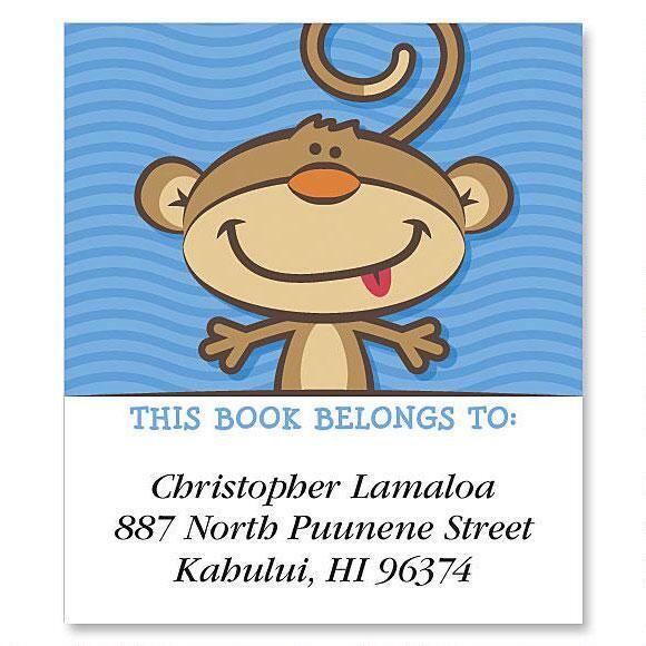 Monkey  Bookplates