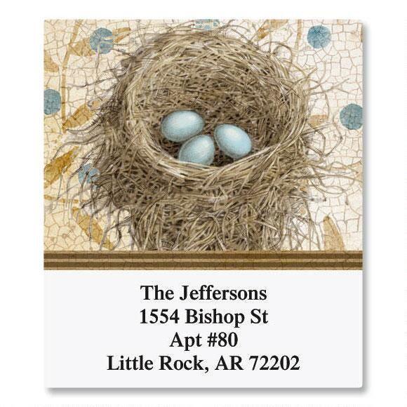 Blue Nest Select Address Labels