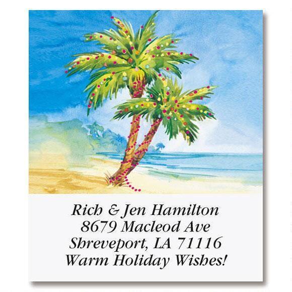 Holiday Paradise Select Address Labels