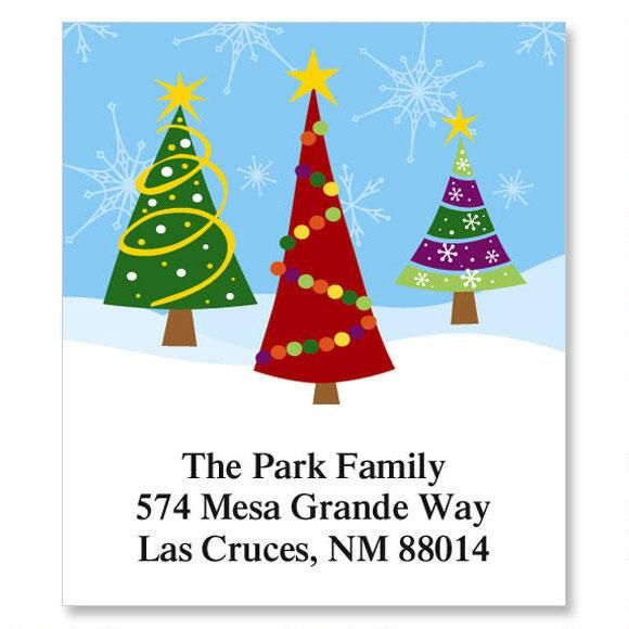 Family Trees Select Return Address Labels